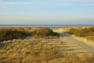 Strandopgang van Michel van Kooten