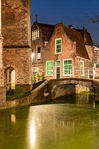 Bruggetje Delft bekend van van tekening Anton Pieck