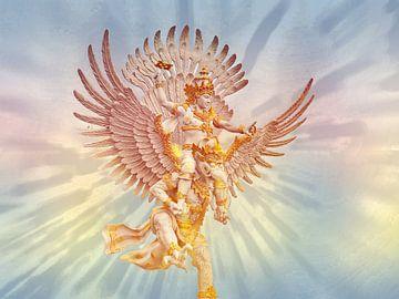 Garuda & Vishnu van Eduard Lamping
