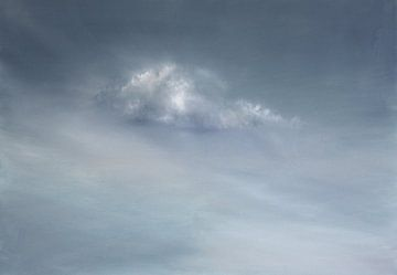 Wolke, grau