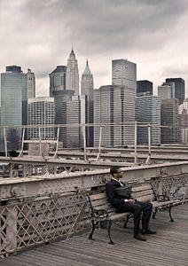 Eenzaam in New York van eric borghs