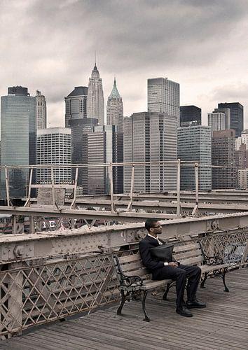 Eenzaam in New York von eric borghs