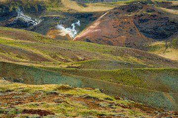 Isländische Vulkanlandschaft von Ed Klungers