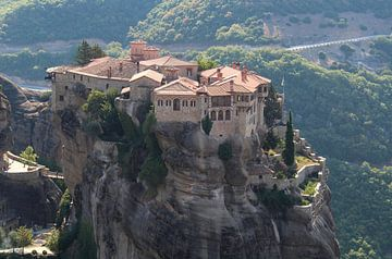Le monastère des Météores sur Henk Alblas