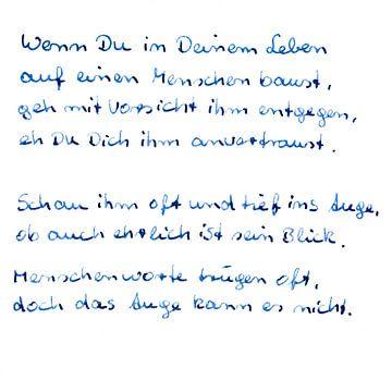 Liefde - gedachten van Norbert Sülzner