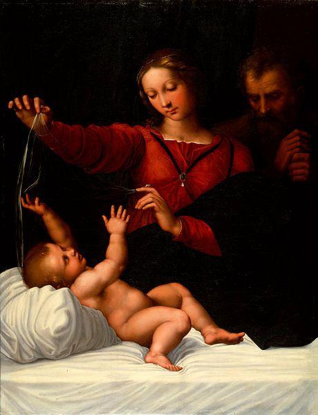 Die Heilige Familie, Rafaël von Meesterlijcke Meesters