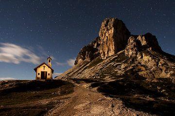 Dolomieten Italië Nacht van Frank Peters