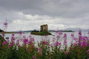Blick auf Stalker Castle
