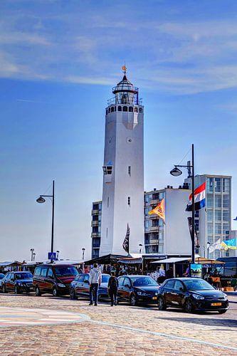 Vuurtoren Noordwijk aan Zee Nederland