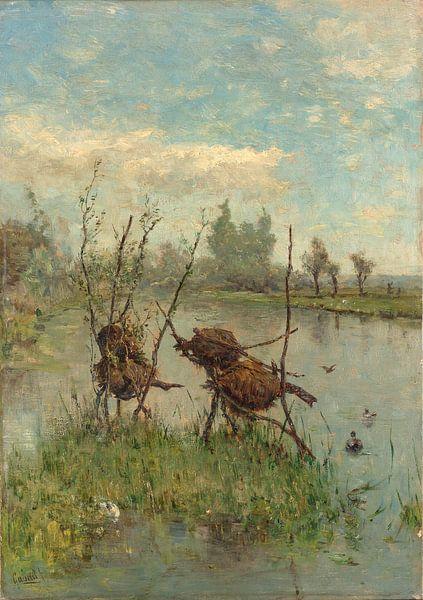 Entennester, Paul Joseph Constantin Gabriel von Meesterlijcke Meesters