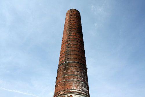 Schoorsteen van de Suikerfabriek Groningen