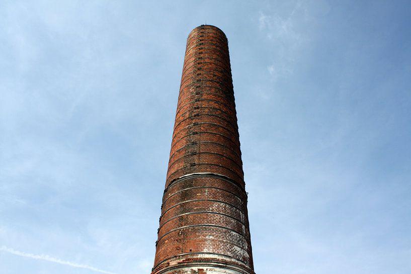 Schornstein der Zuckerfabrik Groningen von Sander de Jong