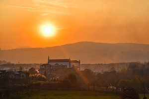 Zonsondergang Braga