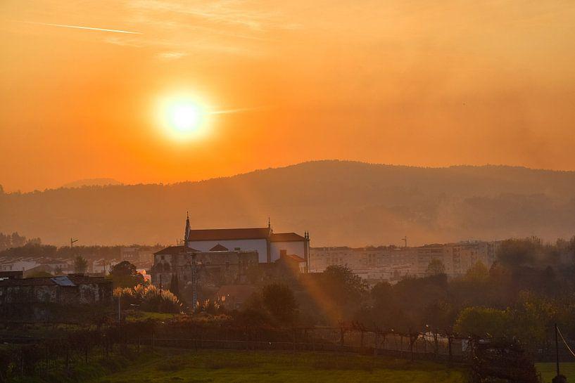 Zonsondergang Braga van Justin Travel