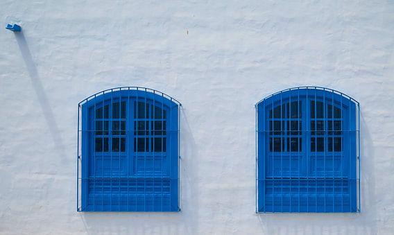 Blauwe ramen, Arrecife, Lanzarote.