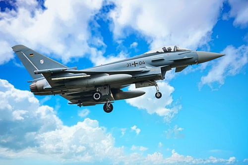 Eurofighter Typhoon 2 van