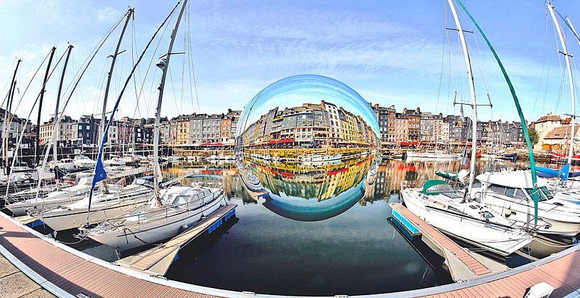Havenstadje Honfleur van BDG pics