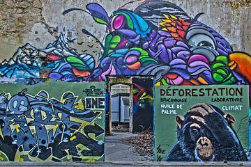 Graffiti von Bjorn Brekelmans