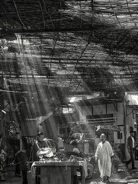 Marrakesch - Souks - Markt in der Altstadt von Carina Buchspies