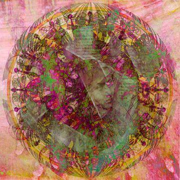 Visioen. Variatie op een mandala. van Rietje Bulthuis
