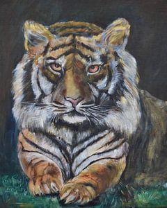 Bengal tiger van