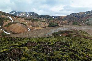 Berglandschap Landmannalaugar