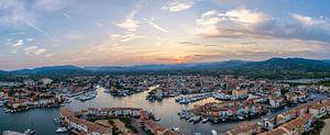 Port Grimaud, Frankrijk van Patrick van Oostrom