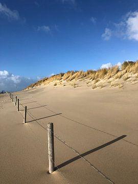 Het strand van Ouddorp von Loes Breur