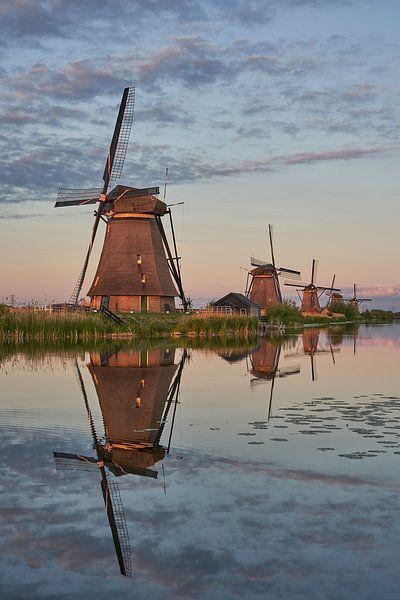 Kinderdijk Windmühlen Unesco-Weltkulturerbe von EdsCaptures fotografie