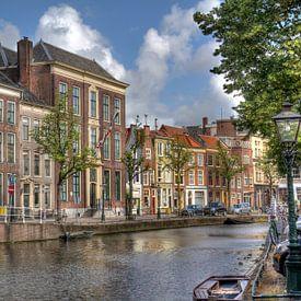 Gracht in Leiden van Jan Kranendonk