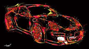 Galaktischer Porsche von Christophe Schircker TOV