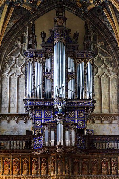 Kerkorgel van de Sint-Jacobskerk in Luik van Dennis van de Water