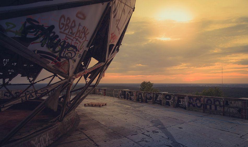 Verlassene Radarstation Teufelsberg Berlin von Oscar Beins