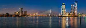 Rotterdam Skyline van Bob de Bruin