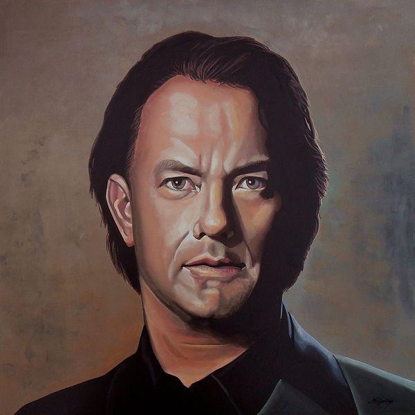 Tom Hanks schilderij van Paul Meijering
