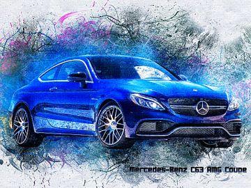 Mercedes van Printed Artings
