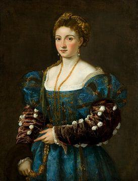 Bildnis einer Dame (La Bella), Tizian