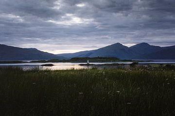 Port Appin vuurtoren van Robert Paul Jansen