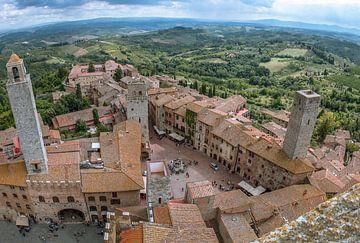 San Gimignano von Jelmer Laernoes