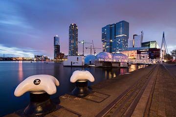 Rotterdam bei Nacht von Paula Romein