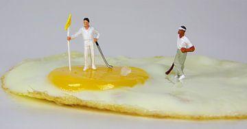 Golfer-Ei sur Ulrike Schopp