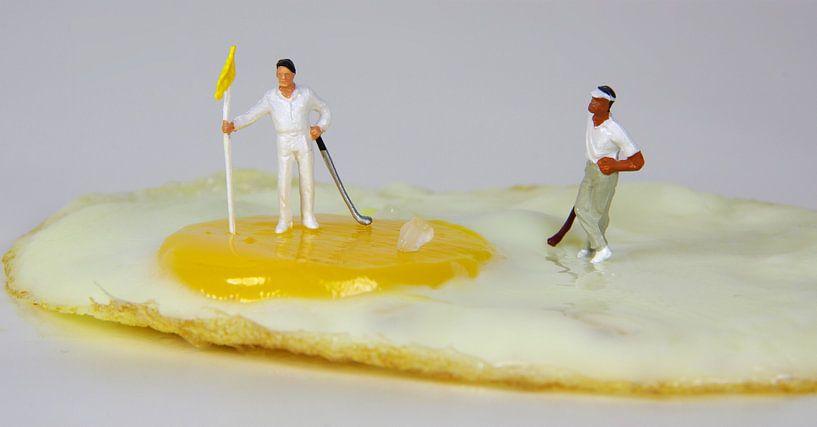 Golfer-Ei von Ulrike Schopp