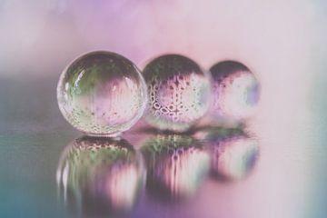 Druppels in roze van Marianne Twijnstra-Gerrits