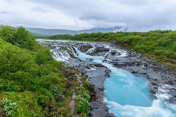 Bruarfoss IJsland von Menno Schaefer