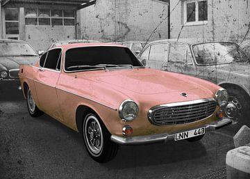 Volvo P1800 in light-pink von aRi F. Huber