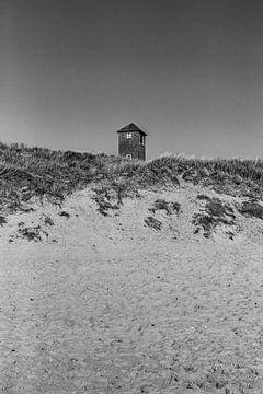 Leuchtturm Zoutelande von Manon van Bochove