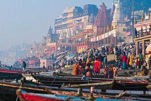Varanasi, de meest fascinerende stad die ik ooit heb bezocht. van