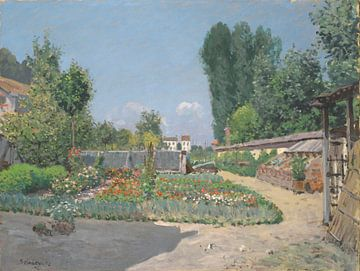 Der Küchengarten, Alfred Sisley