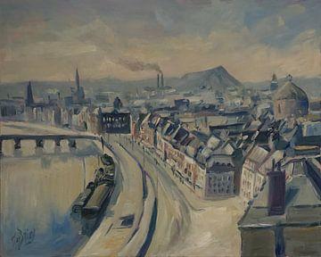 Panorama Liège 1965 van Nop Briex