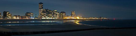 Panorama Vlissingen van Anton de Zeeuw